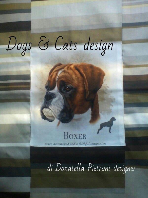 1413 - Particolare del cuscino. Pezzo unico. Dogs & Cats design di Donatella Pietroni designer