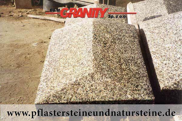 Firma B&M GRANITY – Abdeckplatten (Abdeckungen) für die Mauer, Säulen usw. aus unterschiedlichen Natursteinen haben diverse Formen. Die werden auch aus unterschiedlichen Natursteinen hergestellt. Alles hängt von Wünschen unserer Kundschaft ab. http://www.pflastersteineundnatursteine.de/fotogalerie/unterschiedliche-naturstein-produkte/