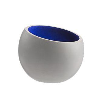 Concrete Bookend Bowl