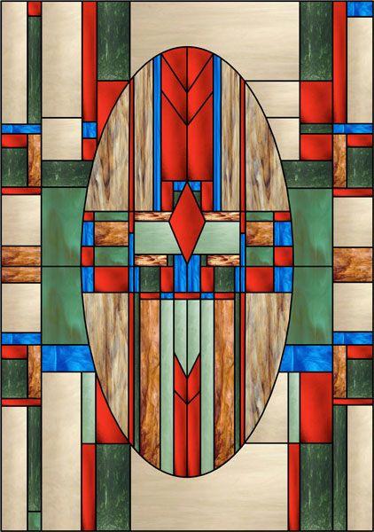 Southwest Mission Decorative Window Film