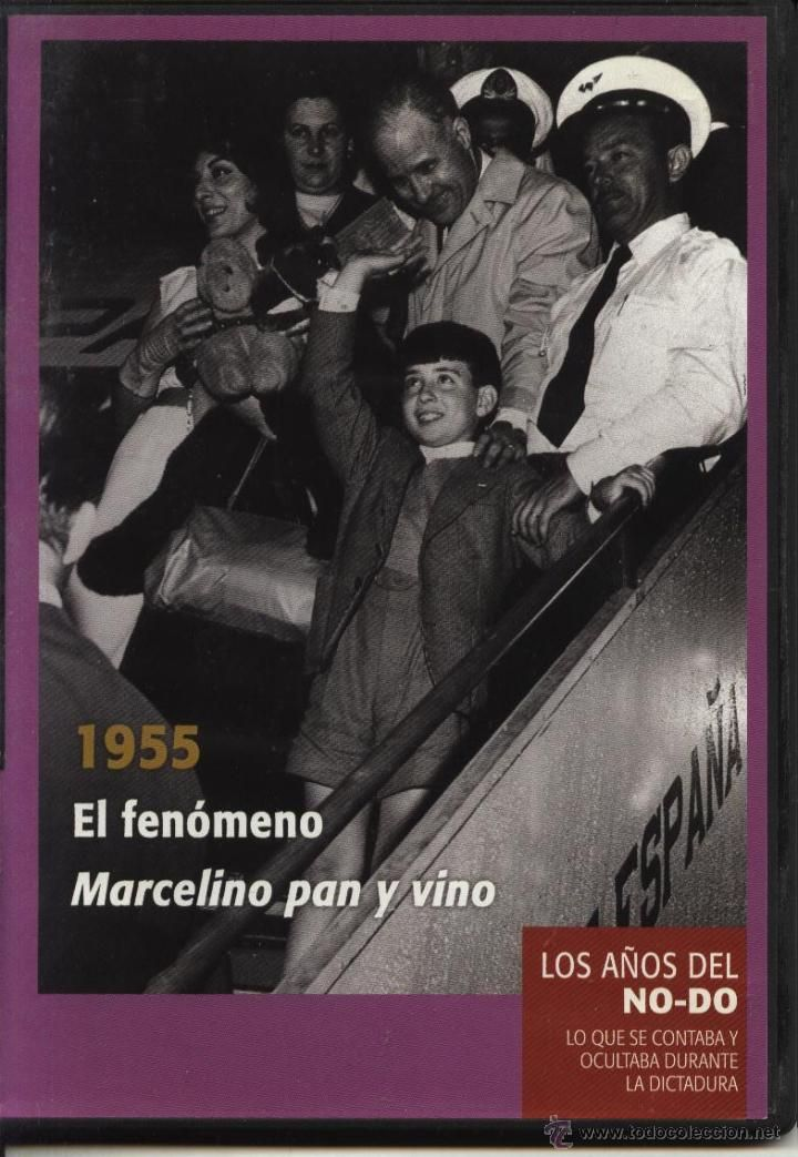 MARCELINO PAN Y VINO (NOTICIARIO NODO DVD), LOS AÑOS DEL NO-DO 1955