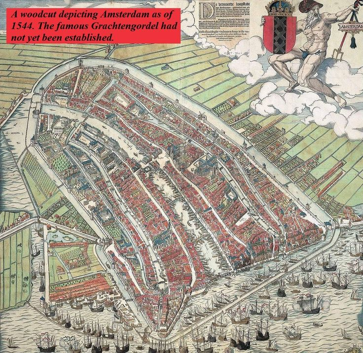 Amsterdam Holland 1544 70 best About Maps