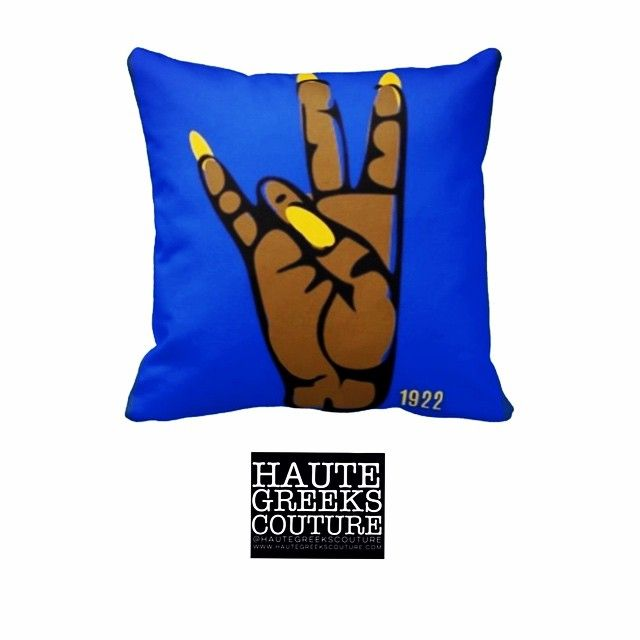 Sigma Gamma Rho pillow