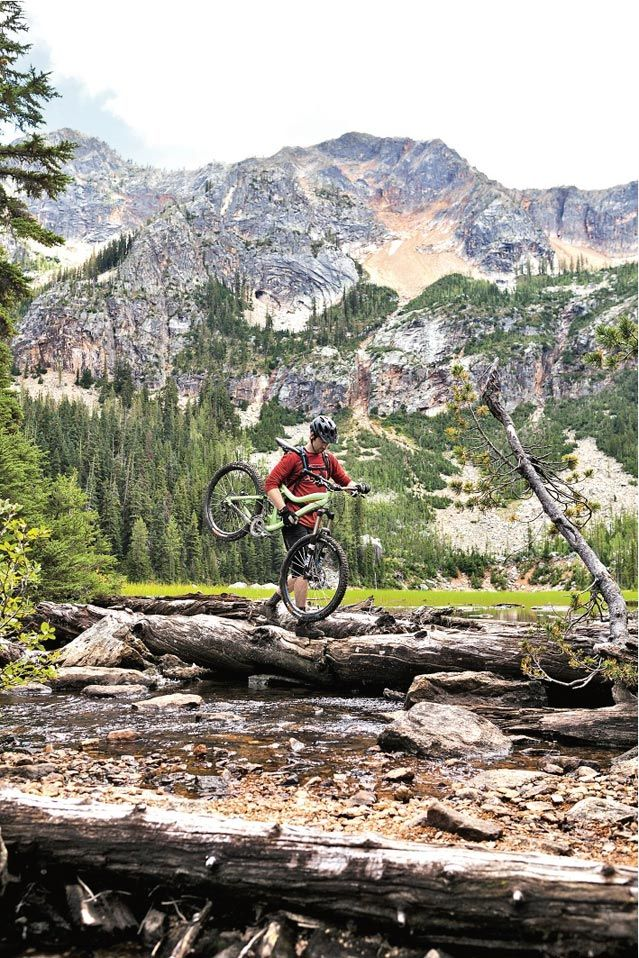 Mountain Biking in the Methow Valley, North Cascades