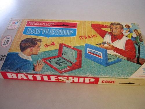 Vintage Battleship game