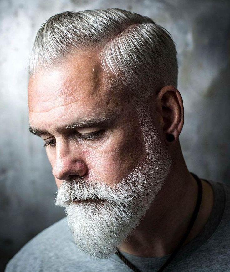 15 Herrliche Frisuren Für Männer Mit Grauem Haar Aka