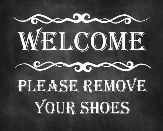 welcome sign please remove your shoes print remove shoes sign printable instant download. Black Bedroom Furniture Sets. Home Design Ideas