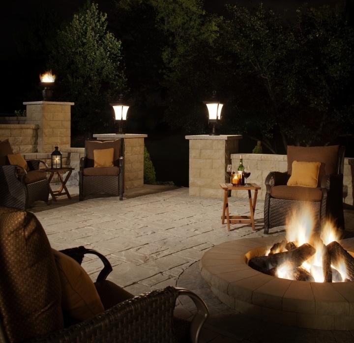 57 best fire pit ideas images on pinterest   backyard ideas ... - Patio Lights Ideas