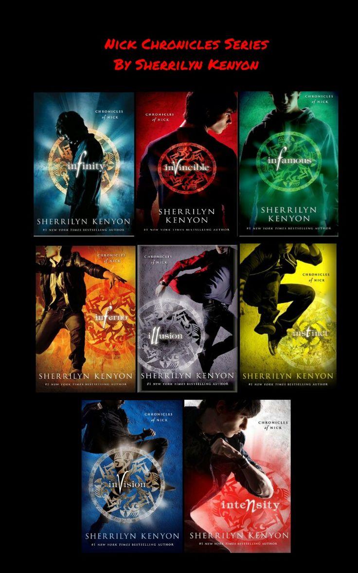 Chronicles of Nick Series by Sherrilyn Kenyon