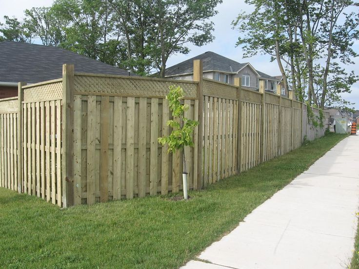 91 Best Fence Ideas Images On Pinterest Privacy Fences