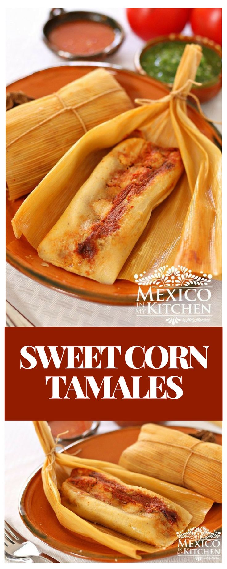 These Savory/Sweet Corn Tamales are from the southern region of the state of Veracruz. I found out about them while living in the city of Coatzacoalcos, a coastal town famous for its oil refineries, as well as for being the hometown of the famous Mexican actress Salma Hayek. #recipe #mexican #food #pork #tamales