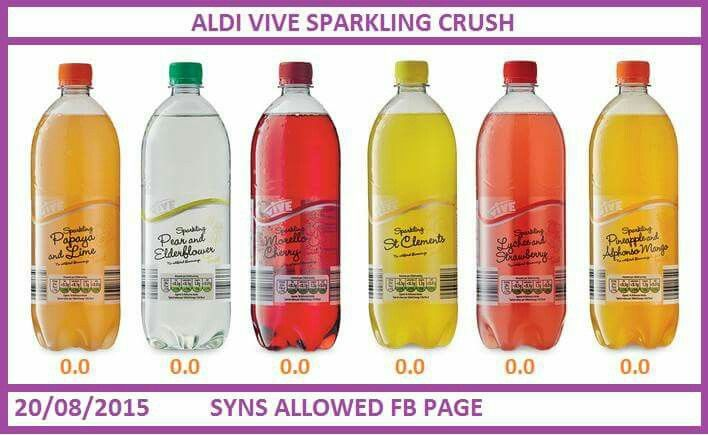 Slimming world Aldi drinks