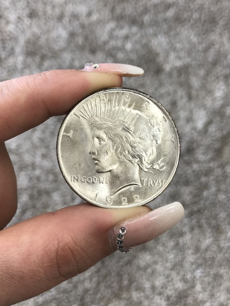 1922 P Peace Dollar,  Nice Lust,  MS63/64 by CoinLovers on Etsy https://www.etsy.com/listing/506774206/1922-p-peace-dollar-nice-lust-ms6364