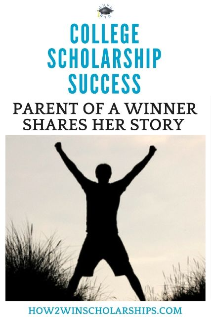 This mom of a scholarship winner shares how her daughter won enough money to cover her entire FIRST YEAR OF COLLEGE. Do not miss this success story! #college #scholarships