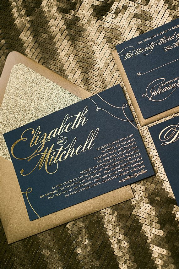 blank wedding invitations%0A The package includes  Invitations with blank envelopes Glitter Envelope  Liner Info Cards Response Cards with blank envelopes Glitter Belly Band   with or