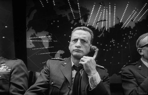 "George C. Scott from ""Dr. Strangelove."" Mr. President, I'm not saying we wouldn't get our hair mussed. But I do say no more than ten to twenty million killed, tops. Uh, depending on the breaks."