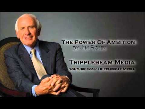 The Power Of Ambition by Jim Rohn - YouTube I've been listening to this while I clean and do yoga..... (Highly) recommend to anyone who wants to be a better person.