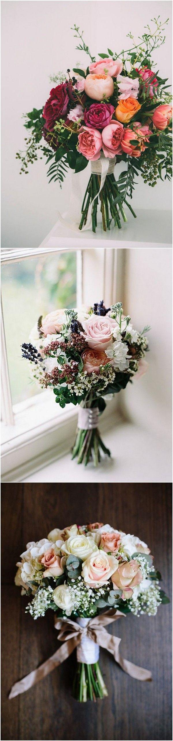 best wedding florals images on Pinterest Bridal bouquets