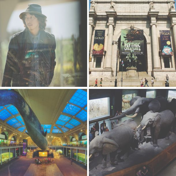 [Stay Curious in NY] Kenji 特別喜歡紐約的美國自然史博物館,雖沒有搭建好的幻象,卻有真實的歷史和詳盡的資料。比如對於民族、布料、文字、手工歷史的了解,很容易在設計、配色、選料等獲得最真實、最觸動的感覺。