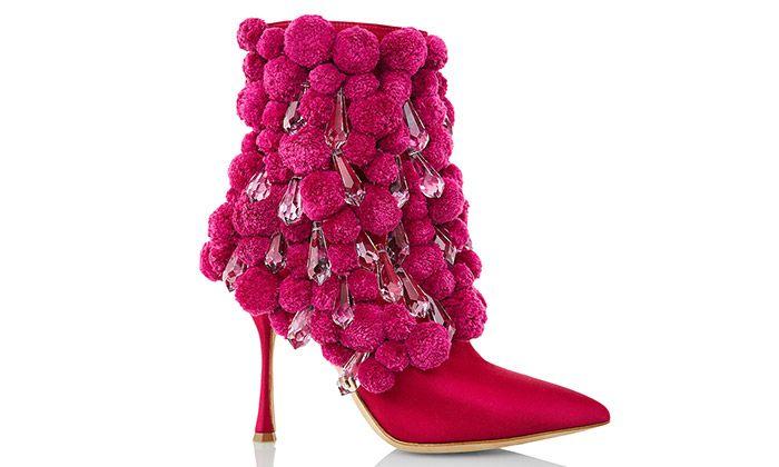 Manolo Blahnik navrhl boty s krystaly od Preciosy