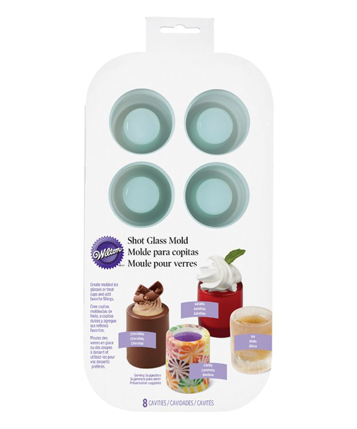 Look what I found on #zulily! Eight-Slot Shot Glass Mold by Wilton #zulilyfinds