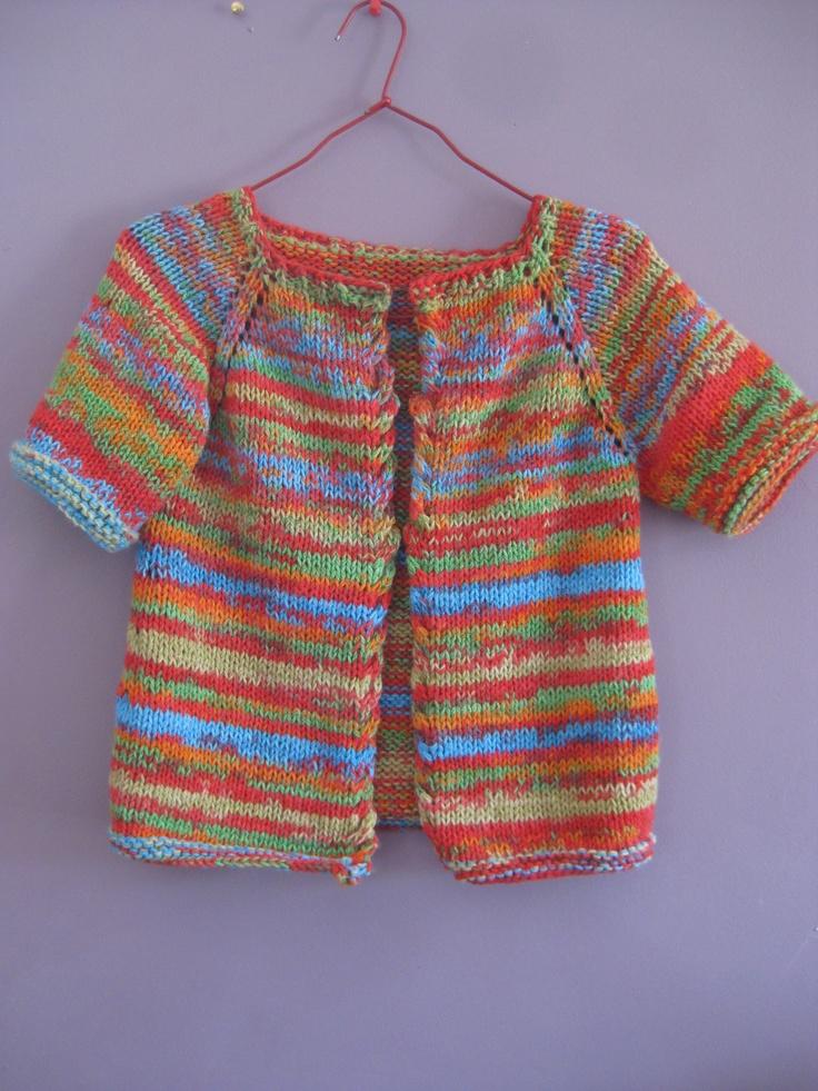 Gilet enfant au tricot