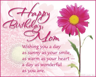 Happy Birthday Mom Poems - Bing Images