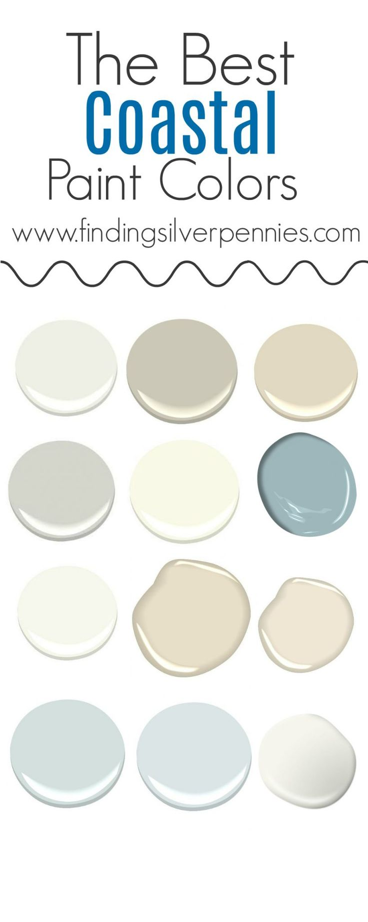 Best 25 Coastal Paint Colors Ideas On Pinterest Coastal Colors Coastal Paint And Beachy
