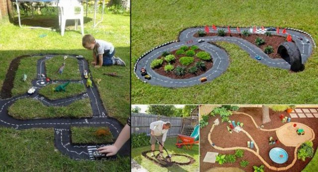 Jouer dehors est amusant pour les enfants, et si vous avez un grand jardin, vous pouvez leur offrir ces jolis projets de bricolage de piste de course de voiture en plein air. Les enfants,...