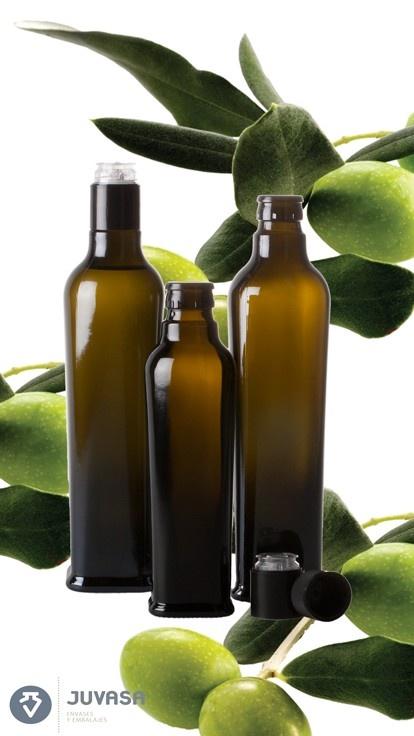 Las botellas Fiorentina con tapones irrellenables, para aceite y vinagre en juvasa.com