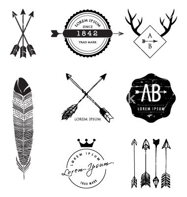 Vintage style design elements vector 1833521 - by rln on VectorStock®