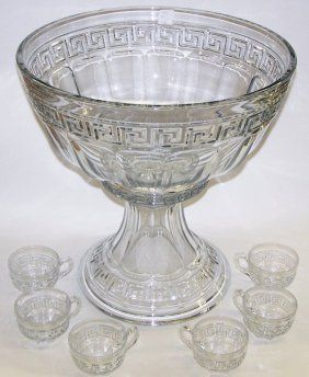 17 Best Images About Punch Bowl On Pinterest Antiques Pedestal And Vintage