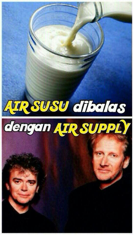 Air Susu dibalas dengan Air Supply #pandawa2014