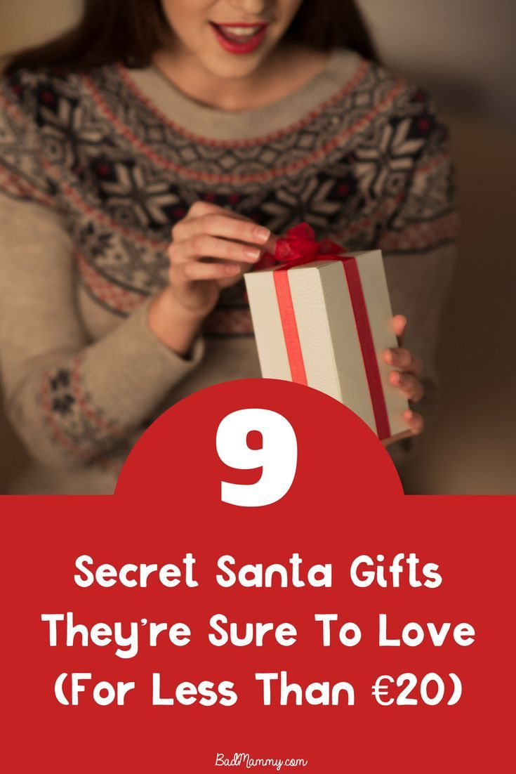 9 Secret Santa Perfect Gift Ideas Below €20 - get that affordable gift that they'll remember you for all year long - here's a gift guide to help you find the perfect present for your Kris Kindle this Christmas.