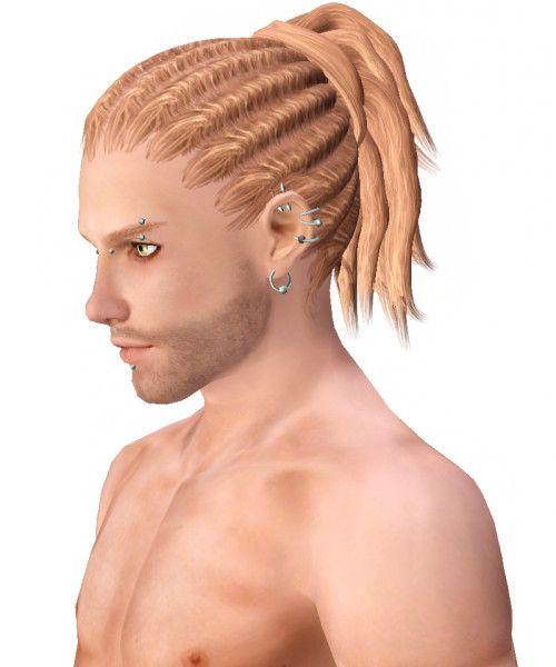 Dreadlocks hairstyle 004 by Kijiko - Sims 3 Hairs