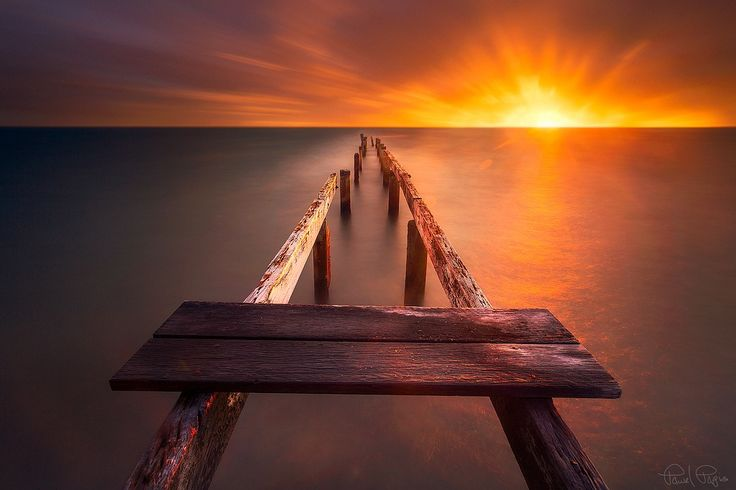 The old jetty by Pawel Papis on 500px