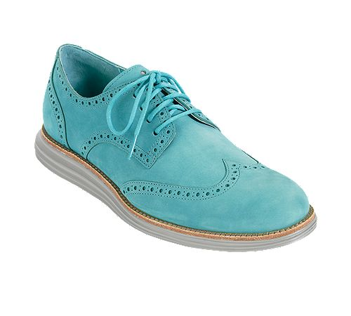 Butch Style: Cole Haan LunarGrand Wingtip. I love the sole on these. —