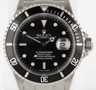 Rolex Submariner 16610 Steel 40mm P Serial Black Dial Date Mens Watch