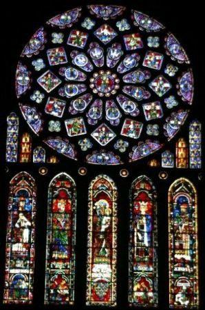 Cattedrale di Chartres - vetrate