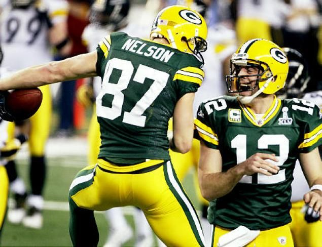 Aaron & Jordy- the MVP's of the game again!!
