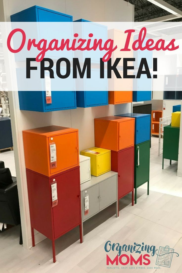 Super smart organizing ideas from IKEA. Organize and decorate your whole house on a budget. #ikeaorganization #organizingideas