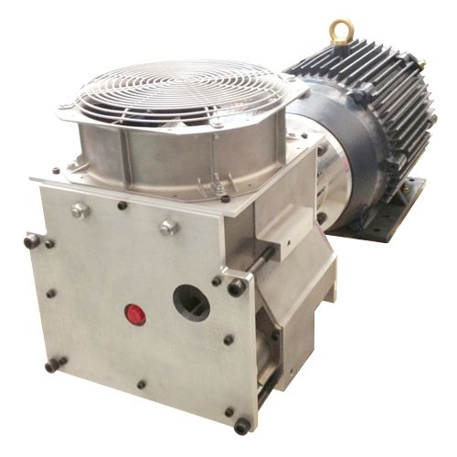 P22H038A-AC-SH - Semi-hermetic oil-free scroll compressor for smooth operation with gases other than air.