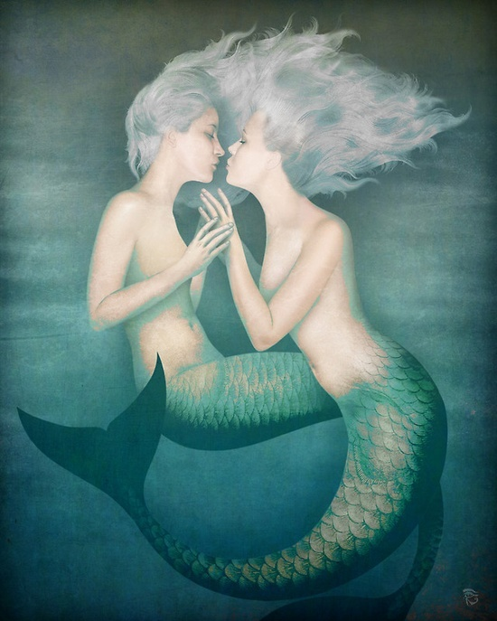 """The kiss"" Christian Schloe"