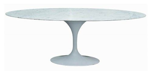 Cartra Oval Tulip Dining Table in White Marble MCMCLASSICS http://www.amazon.com/dp/B005NJOCR0/ref=cm_sw_r_pi_dp_ROcTtb16VAQH4FSG
