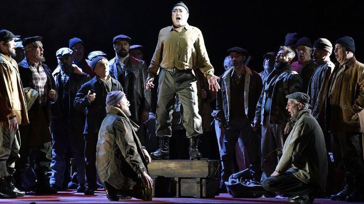 Le ténor Sud Coréen Alfred Kim incarne Ernani au théâtre du Capitole à Toulouse. / © PASCAL PAVANI / AFP
