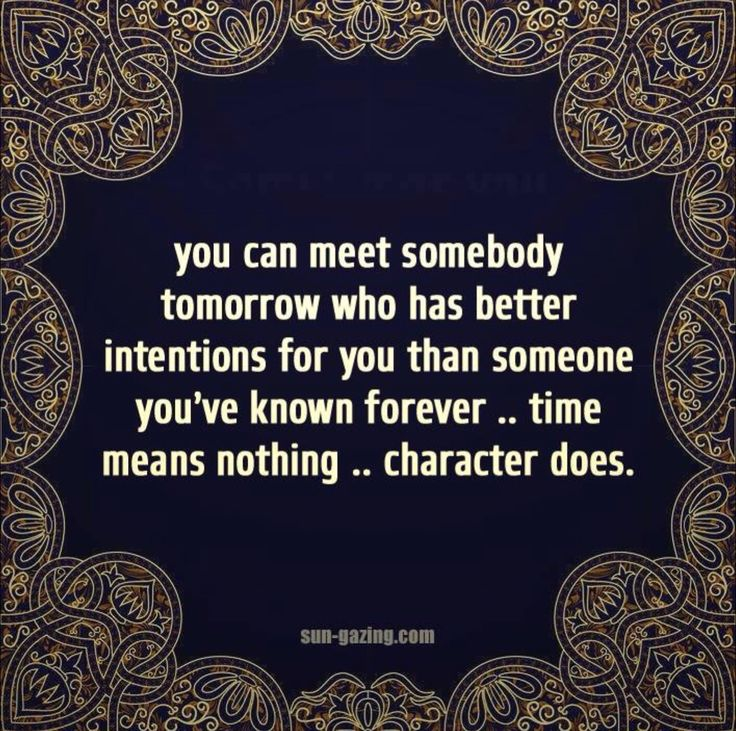. #character #time