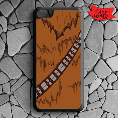 Brown Body Chewbacca Star Wars iPhone 5C Black Case