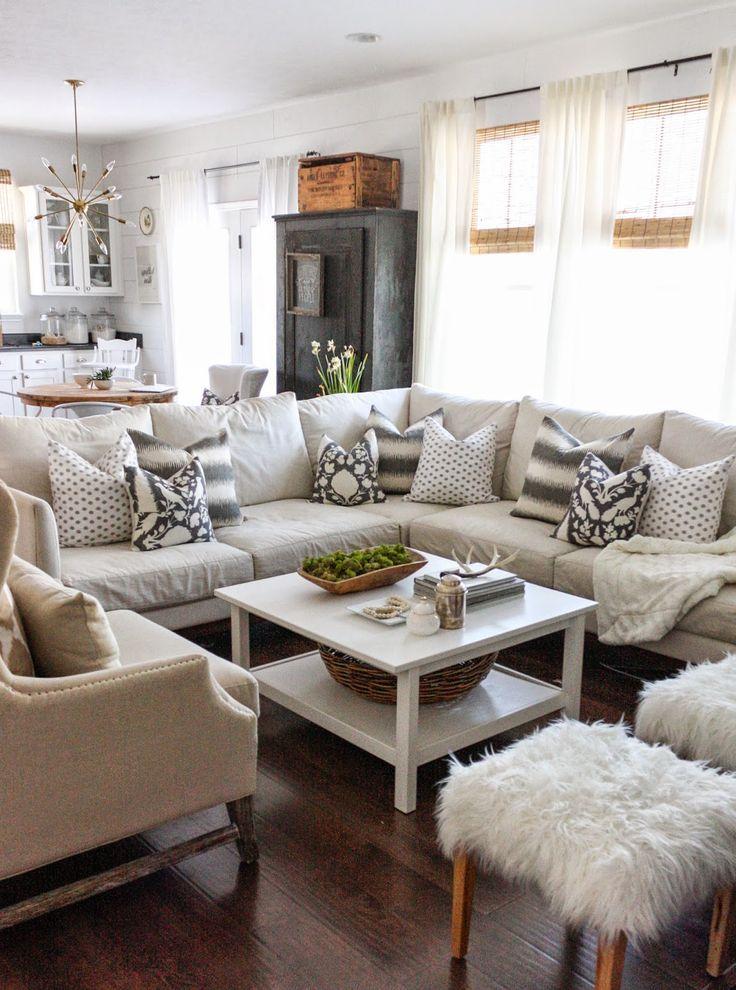 Best 25 Family room sectional ideas on Pinterest Beach style