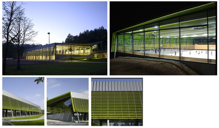 Horizontal Louvers  Sports Hall in Hardthausen       Architect : Heinisch.Lembach.Huber Architekten