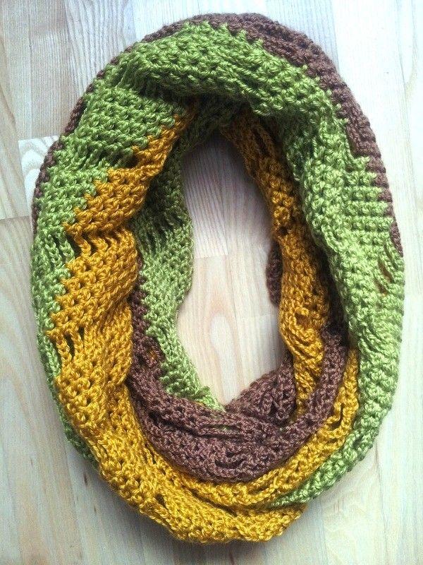 114 besten Crocheting Shawls&Scarves Bilder auf Pinterest ...